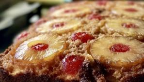 フランスのパイナップルケーキ