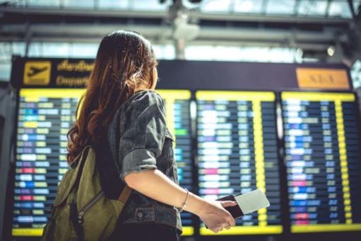 Personne à laéroport