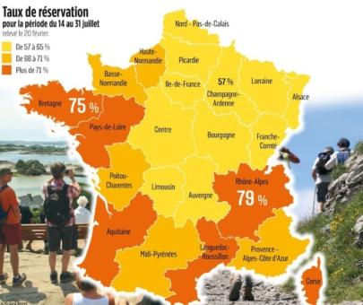 Carte Destination France